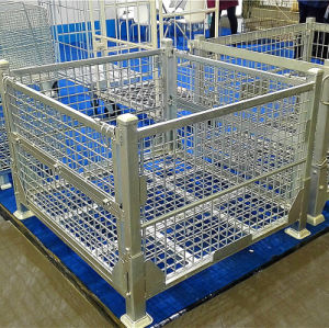 Galvanized Heavy Duty Cage Pallets pictures & photos