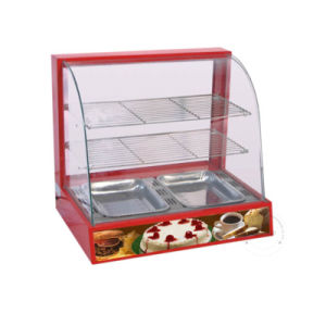 Hotsale Low Price Food Warming Display Showcase Dh-2p pictures & photos