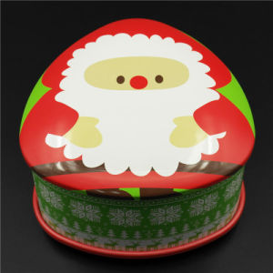 OEM Series Christmas Tinplate Box for Packing Gift (T001-V7) pictures & photos