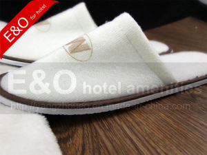Cheap Simple Drawstring Non-Woven Hotel Slipper Shoe Bag pictures & photos