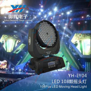 New 108*3W RGBW Stage Effective Show LED Moving Head Light pictures & photos