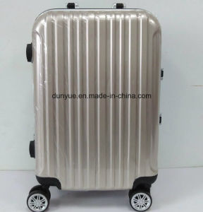 "Low MOQ 20"", 24"", 28"" Aluminum Frame Portable Trolley Case, Factory Make PC Material Travel Bag/Luggage Suitcase with Wheels pictures & photos"