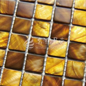 Special Dye Shell Mother of Pearl Mosaic Tile pictures & photos