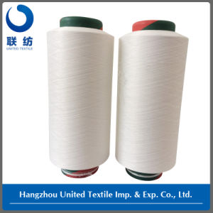 Lycra Covered Polyester DTY Yarn (200D/144F+20D) for Jeans pictures & photos