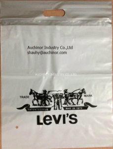 Die Cut Bag Patch Handle Bag Poly Die Cut Bag Boutique Bag Poly Handle Bag Shopping Bag Garment Bag Carrier Bag Plastic Bag Packaging Bag pictures & photos