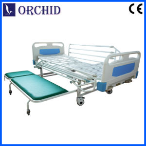 Manual Bed with European Side Rail with Accompany Bed (BCS03-IIBP)