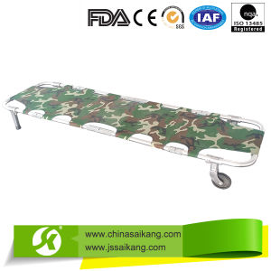 4 Foldable Patient First-Aid Ambulance Stretcher pictures & photos