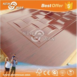 High Glossy 3mm-4.5mm Melamine HDF Door Skin for Middle East pictures & photos