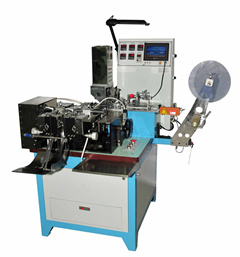 Ultrasonic Label Cutting & Folding Machine Roller Type Hy-586UR pictures & photos