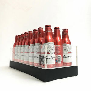 High Quality Custom Acrylic Beer Wine Liquor Bottle Display with LED Light pictures & photos