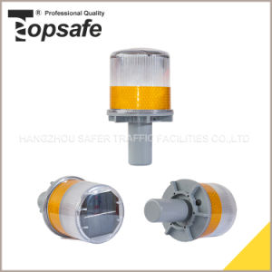 Yellow ABS Round Warning Light with Metal Bracket pictures & photos