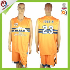 Free OEM Sublimated Basketball Uniform for Men and Kids pictures & photos