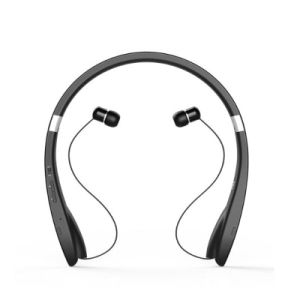 Bluetooth Headset Bluetooth Headphone Wireless Neckband Design with Retractable Earbud for iPhone, Android, Other Bluetooth Enabled Devices pictures & photos