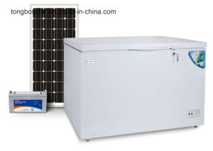 off Grid 100% Solar Powered DC 12V Chest Freezer 354L pictures & photos
