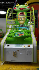 Hot Sale! ! ! 2017 New Arrival Coin-Oerated Frog Basketbal Amusement Game Machine Big Sale Frog-N-Ball Games Arcade Mini Basket Ball Arcade Machine Battle Ball pictures & photos