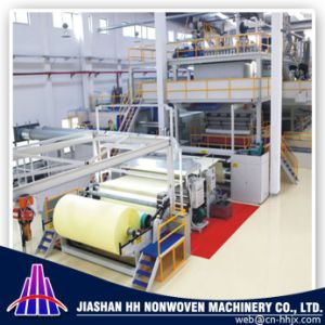 Fine Quality China 1.6m SSS PP Spunbond Nonwoven Machine Line pictures & photos