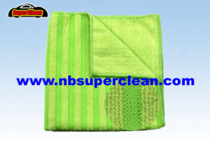 High Quality New Fashion Microfiber Cleaning Cloth Kitchen Cleaning Cloth (CN3664) pictures & photos