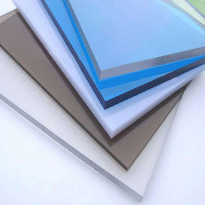 China Good Quality Any Thickness Solid Lexan Bayer Roof Polycarbonate Sheet pictures & photos