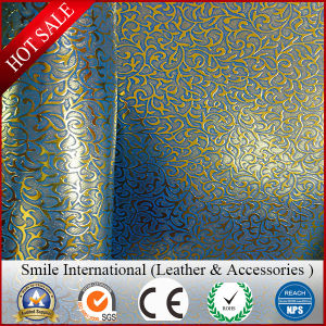 Artificial Leather for Shoes TPU Synthetic Leather Embossed PU Leather pictures & photos
