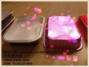 Aluminum Foil Frozen Food Storage Container Freezer Microwave pictures & photos
