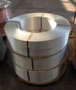 Air Condition Aluminum Tube Coil/HVAC Aluminum Tube/Extrude Aluminum Tube/Drawn Tube pictures & photos