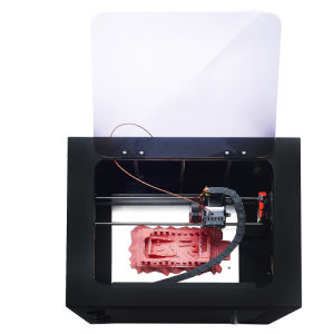 China Factory Whole Sealing LCD-Touch Fdm Desktop 3D Printer pictures & photos