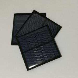Mini PV Solar Panel 70X70mm 4.5V pictures & photos
