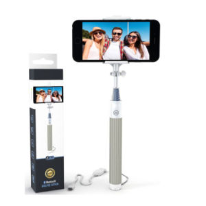 Fashion Mini Multi-Function Wired Monopod Selfie Stick with Cable pictures & photos