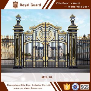 China Suppliers Beautiful Decoration Security Gate Front Gate Villa Gate Design