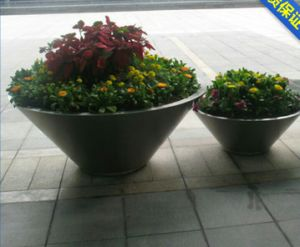 304 Stainless Steel Garden Round Flower Pot for Large Size pictures & photos