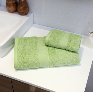 Colorful 100% Cotton Hotel Face Towels pictures & photos