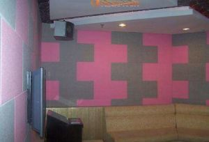 Decorative Acoustic Fabric Fiber Wall Panel/ Fireproof Class a Wall Panel pictures & photos