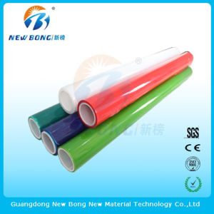 Long Roll PE Self Adhesive Films for High Light Plastic Parts pictures & photos