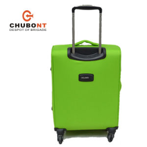 Xelibri Supper Light 4 Spinner Wheels Polyester Fabric Upright Suitcase pictures & photos