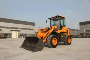 Chinese 2 Ton Wheel Loader Ensign Brand Yx620 with Joystick pictures & photos