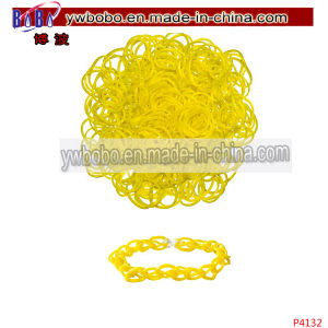 Hair Jewellery Bracelet Loom Bands Kids Toy (P4132) pictures & photos