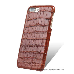 Genuine Leather Back Mobile Cell Phone Case for iPhone8/8plus7/7plus/6s/6splus pictures & photos