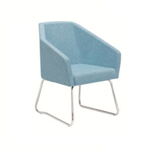 Popular Meeting Sofa Chair with Steel Frame pictures & photos