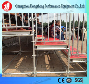 2017 Best Portable Grandstand Steel Structure Aluminum Bleachers Seating with Aluminum Alloy Truss pictures & photos