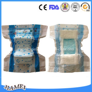 Cotton Angel Baby Diaper Fujian Manufacturer with Elastic Waitband pictures & photos