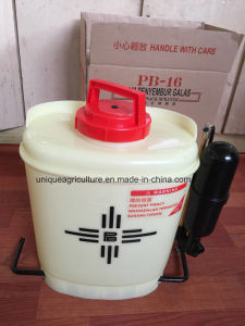 Uq-18L Poly Knapsack Hand Sprayer with Brass Pump pictures & photos