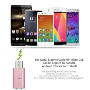 Lightning Micro to USB Magnetic Charger Cable for iPhone Samsung pictures & photos
