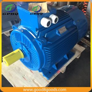 Ye2 20HP/CV 15kw 1200rpm Cast Iron Squirrel Cage Electric Motor pictures & photos