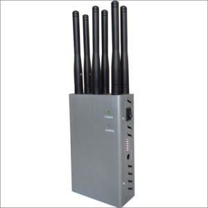 Wireless Mobile Phone Signal 6 Band Handhold Jammer pictures & photos