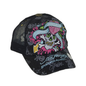 Leisure Hat Custom 5 Panels Snapback Trucker Hat with Embroidery pictures & photos