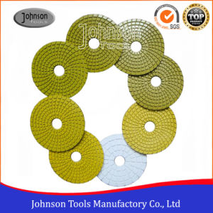 100mm Diamond Economic Wet Polishing Pad for Granite pictures & photos