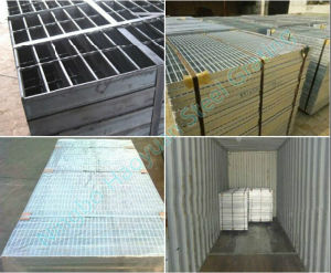 Different Applications of Steel Grating Stair Tread Series Four pictures & photos