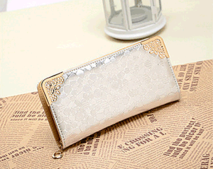 Rock Zipper Lady Wallet Embossed Hand Bag (BDMC145) pictures & photos