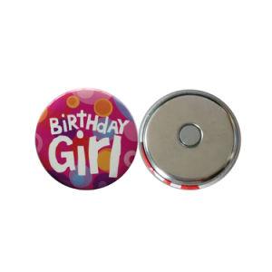 Promotional Gift Souvenir Round Tin Button Button Fridge Magnet pictures & photos