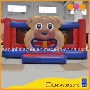 Guangzhou Inflatable Game Manufactures Commercial Used Bear Big Inflatable Bouncer (AQ02378) pictures & photos